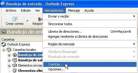 outlook express mail